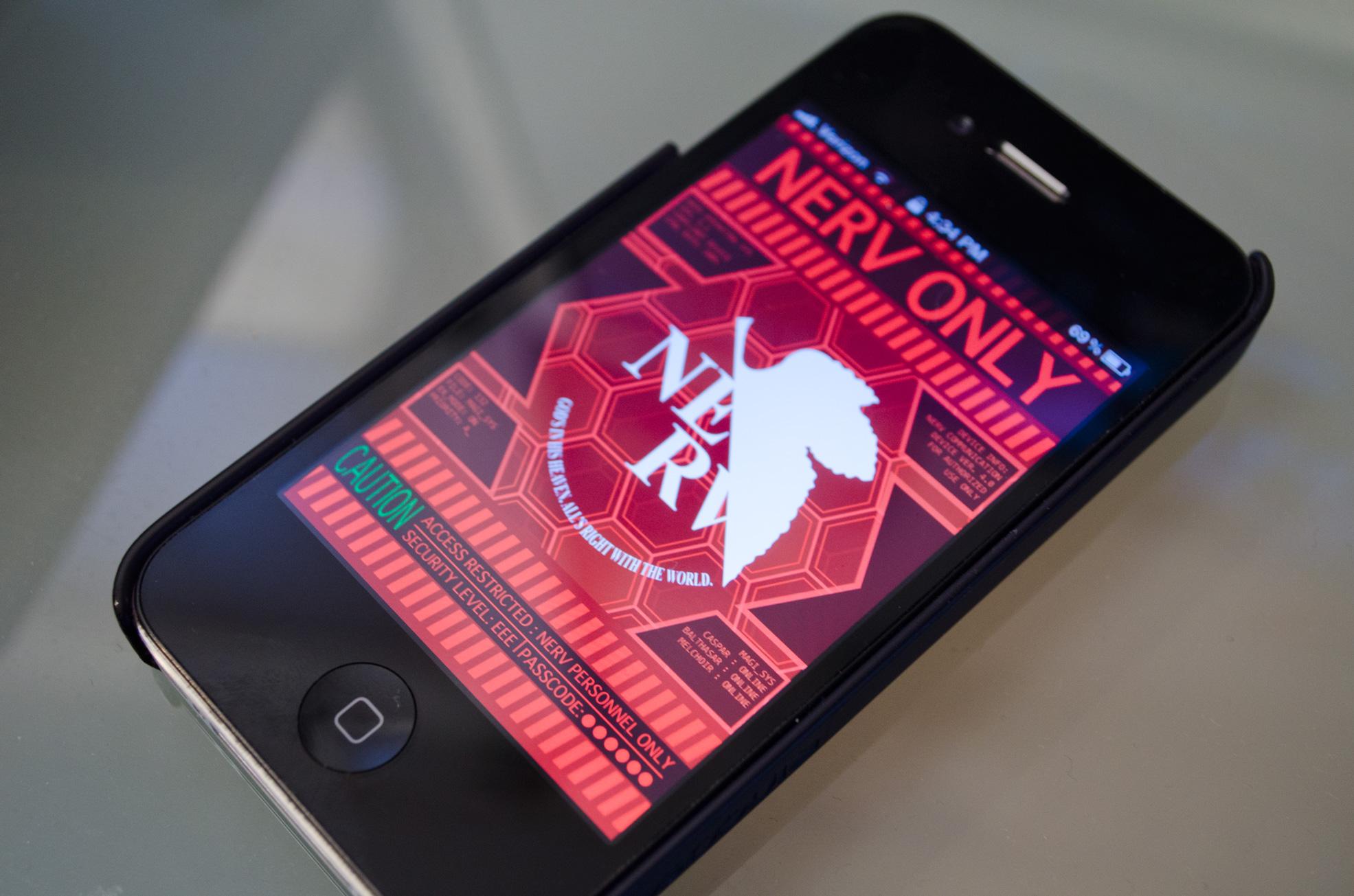 Evangelion iPhone