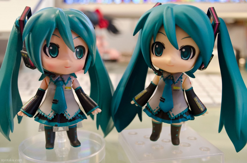 Fake and Real nendoroid