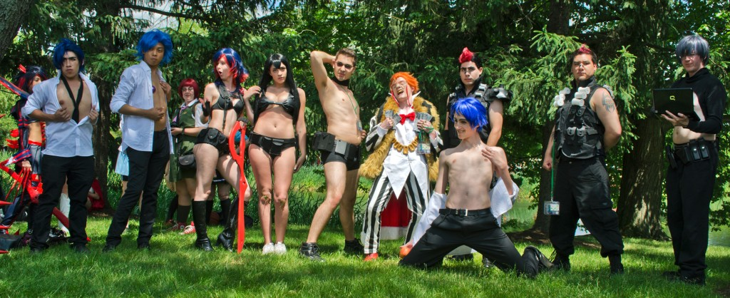 AnimeNEXT 2014 Nudist Beach cosplay