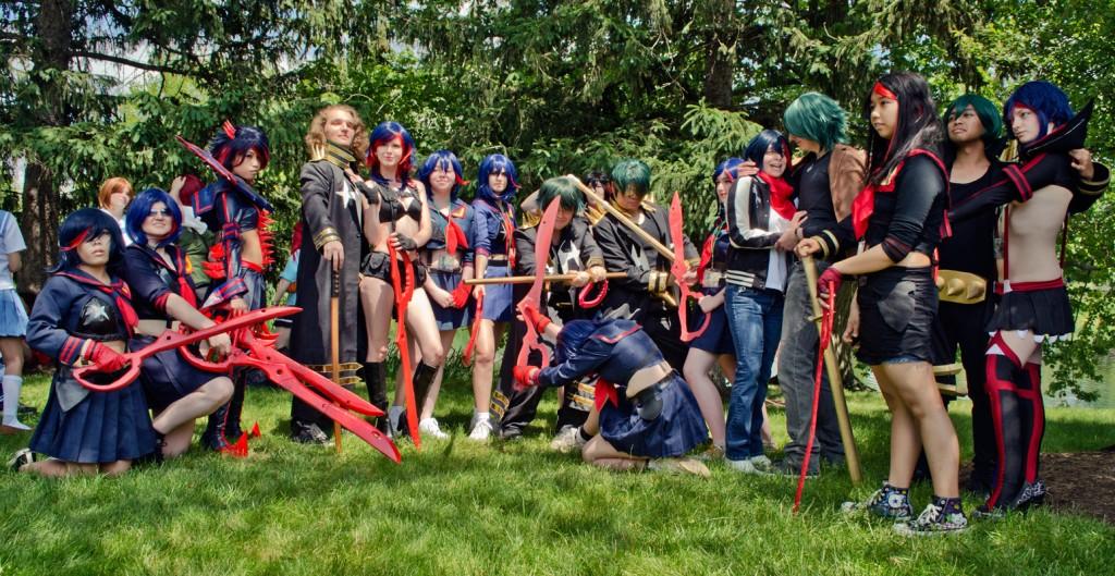 AnimeNEXT 2014 Ryuko Sanageyama Cosplay