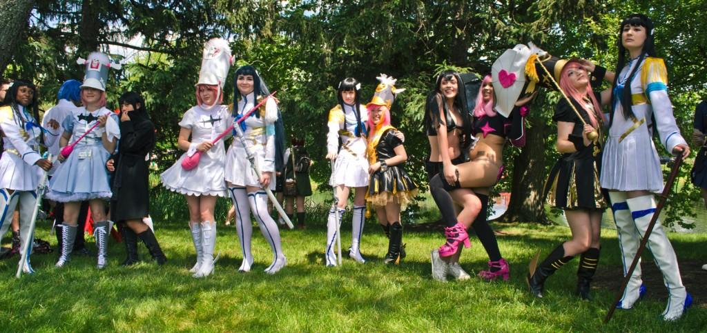 animeNEXT 2014 Satsuki Nonon cosplay