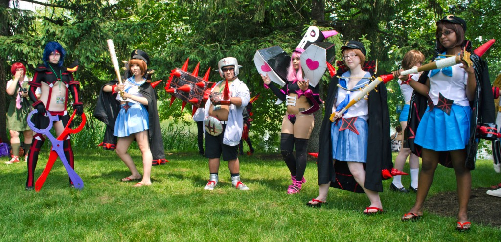 AnimeNEXT 2014 Kill la Kill cosplay
