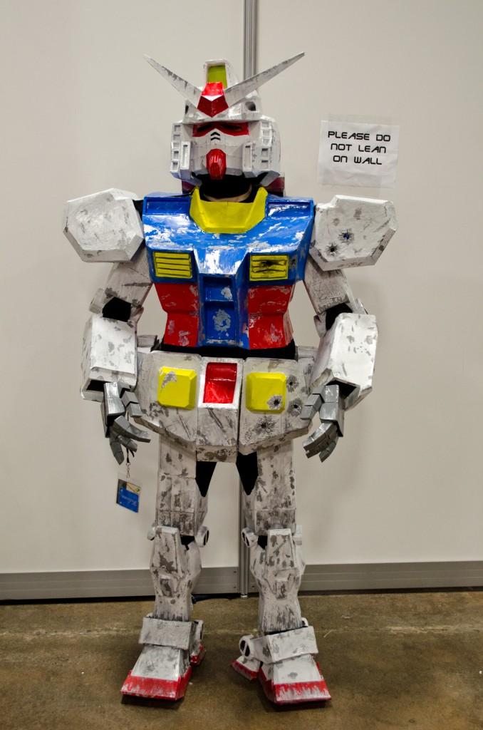 Animenext 2014 Gundam