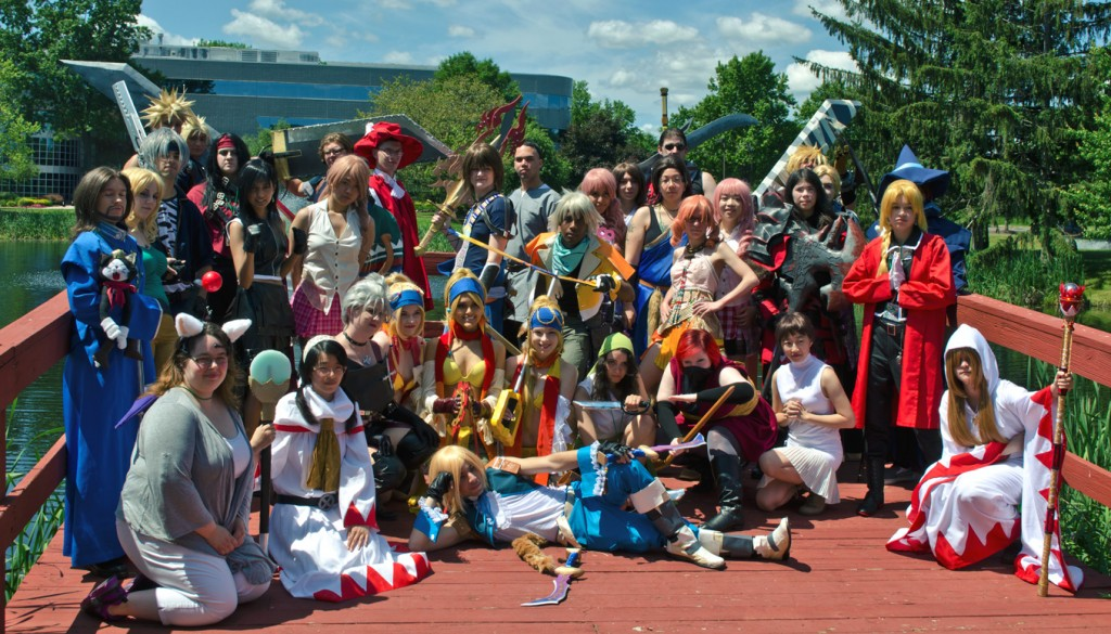 Animenext 2014 Final Fantasy Cosplay