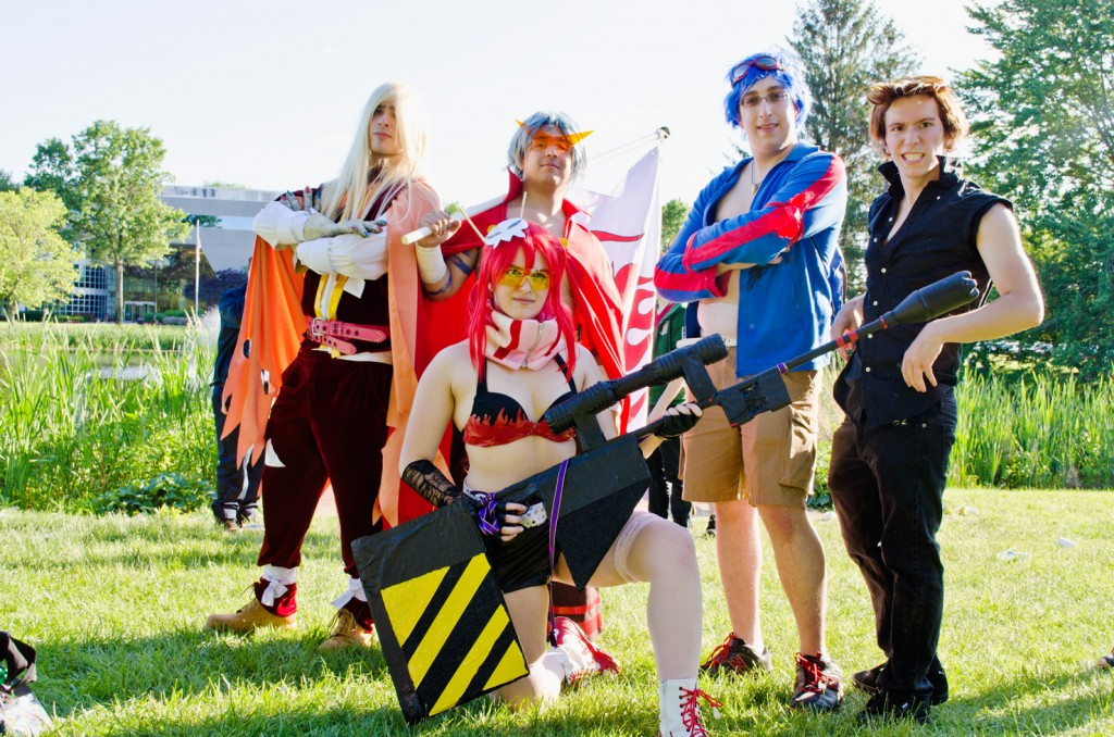AnimeNEXT 2014 Gurren Lagann Cosplay