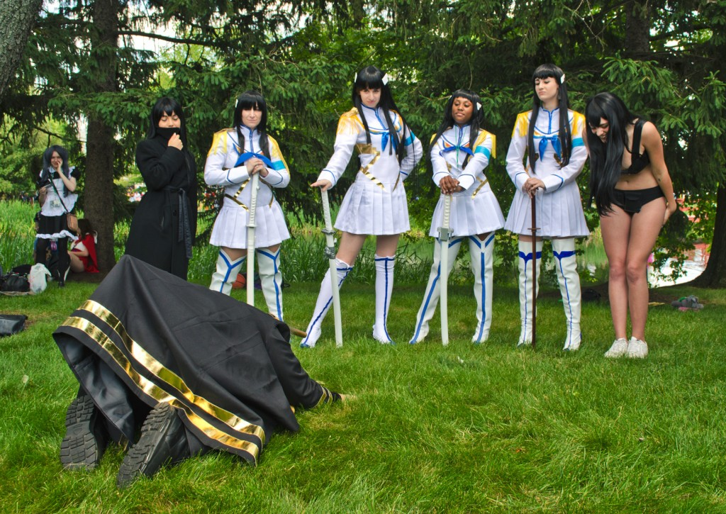 Animenext 2014 Kill la Kill meetup
