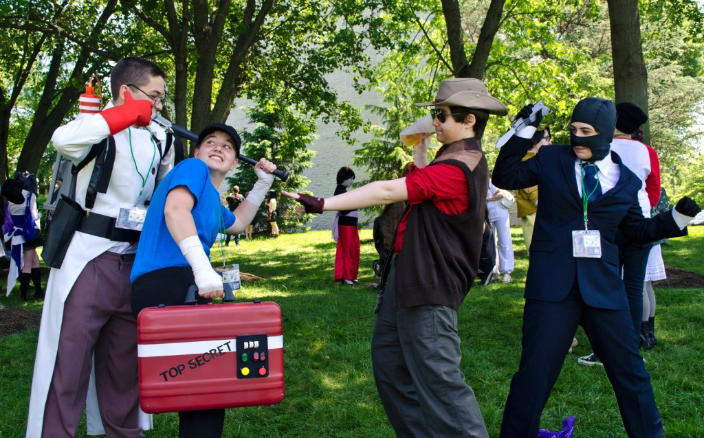 AnimeNEXT 2014 tf2 cosplay