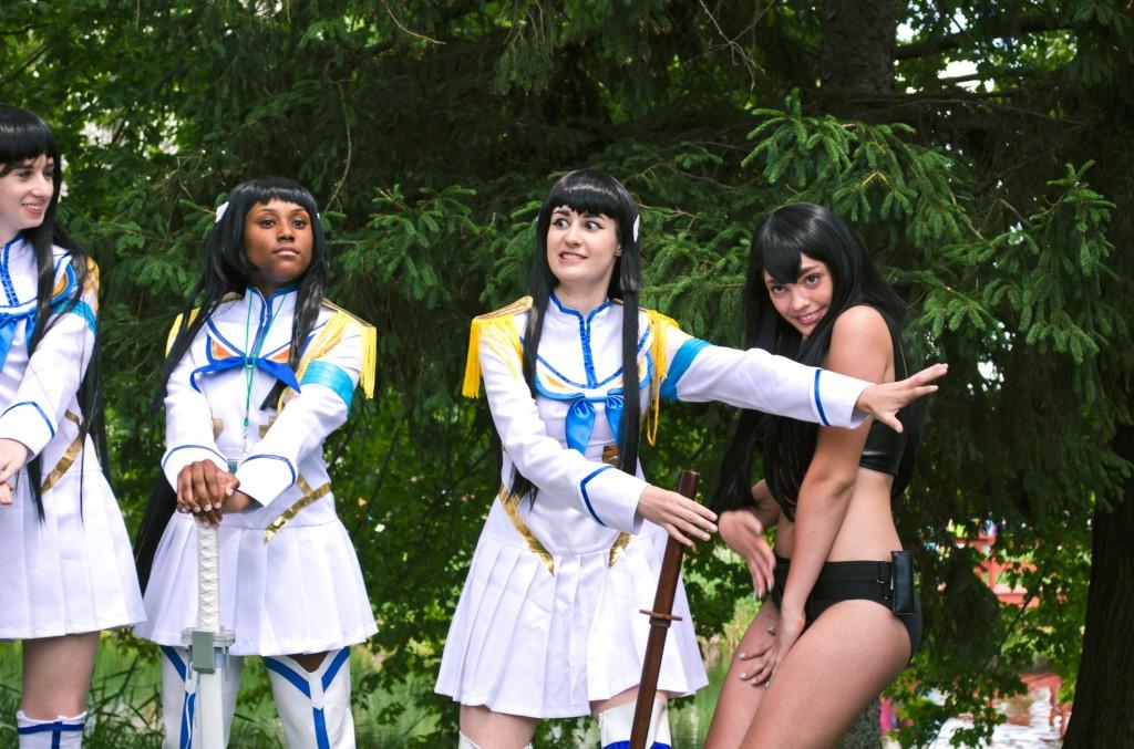 AnimeNEXT 2014 Kiryuin Satsuki Cosplay