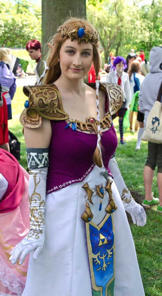 AnimeNEXT Zelda cosplay