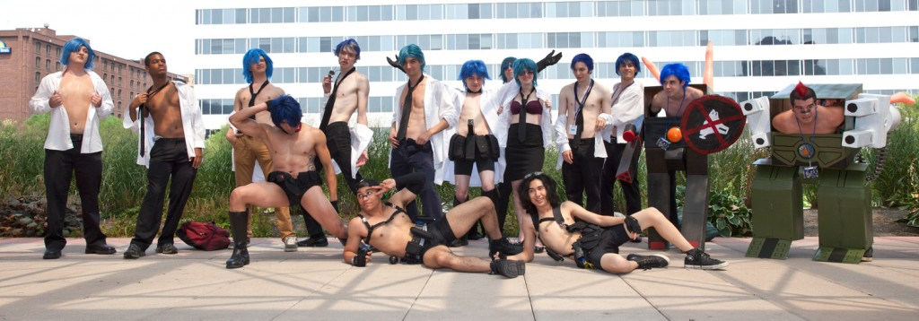 Otakon 2014 Aikuro Mikisugi Cosplay Group Shot