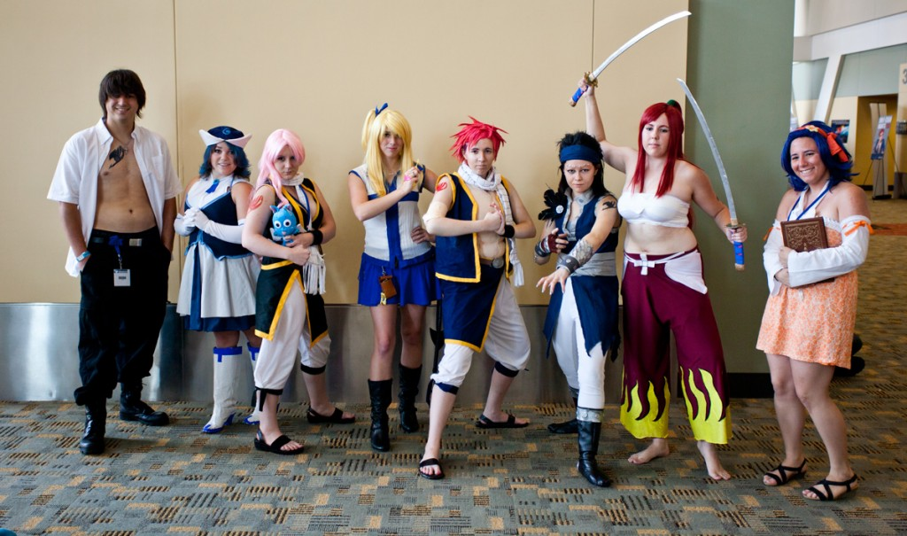 Otakon 2014 Fairy Tail Cosplay
