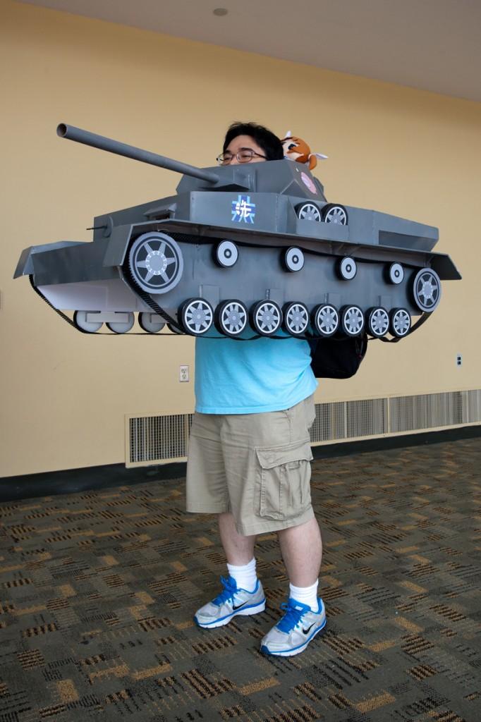 Otakon 2014 Girls und Panzer Cosplay