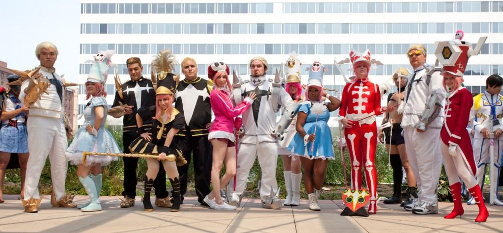 Otakon 2014 Nonon and Gamagori cosplay photoshoot