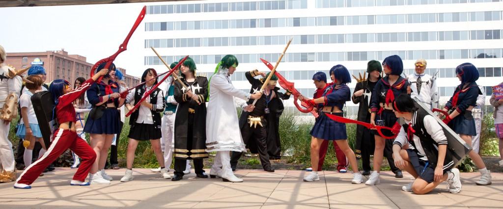 Otakon 2014 Ryuko vs Sanageyama cosplay