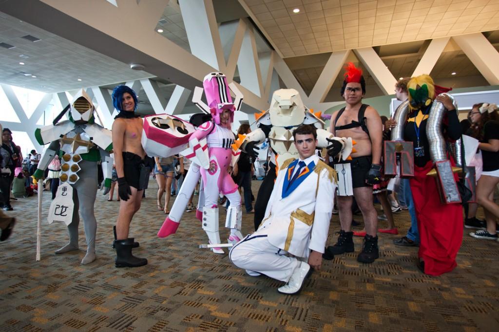 Otakon 2014 Kill la Kill regalia-cosplay