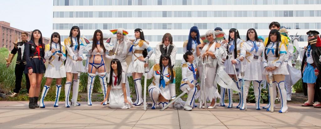 Otakon Satsuki and Ragyo Cosplay group