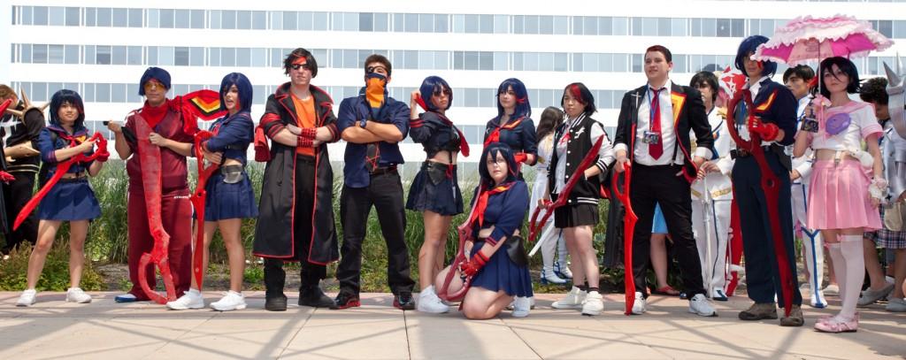 Otakon 2014 Ryuko Matoi Group Photo