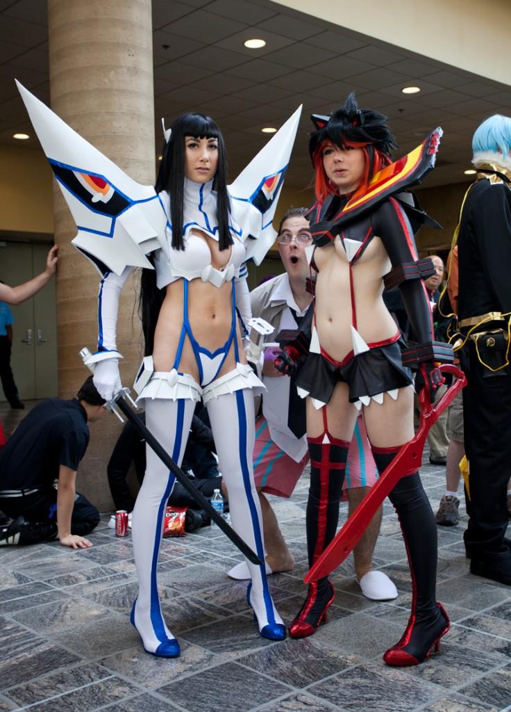 Otakon 2014 Ryuko and Satsuki Cosplay