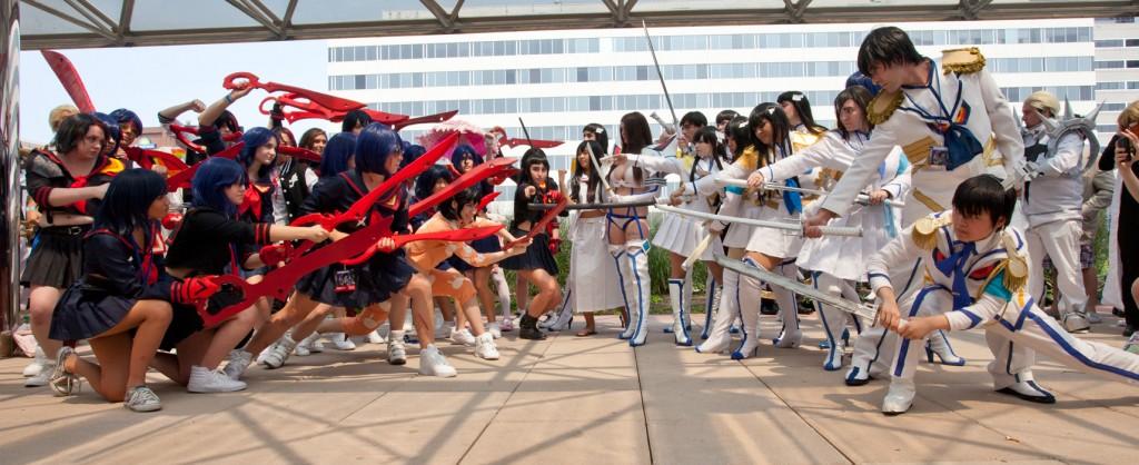 Otakon Ryuko vs Satsuki cosplay