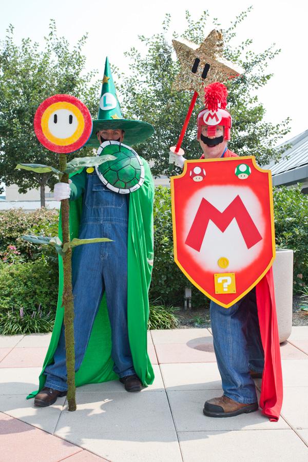 Otakon-2014 Super Mario Cosplay