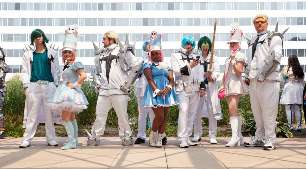 Otakon 2014 Kill la Kill elite four cosplay