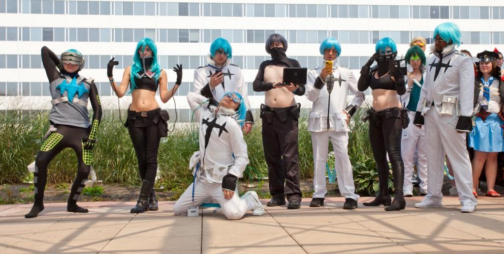 Otakon Inumuta Group Cosplay