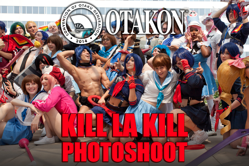 Otakon Kill la Kill Photoshoot