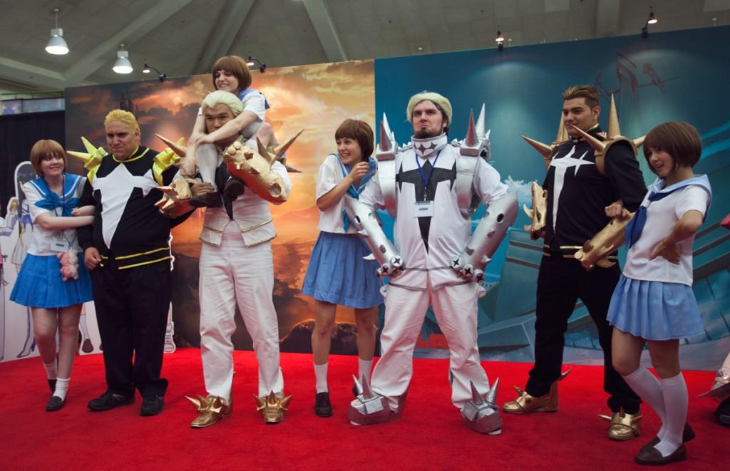 Otakon Aniplex booth Kill la Kill cosplay