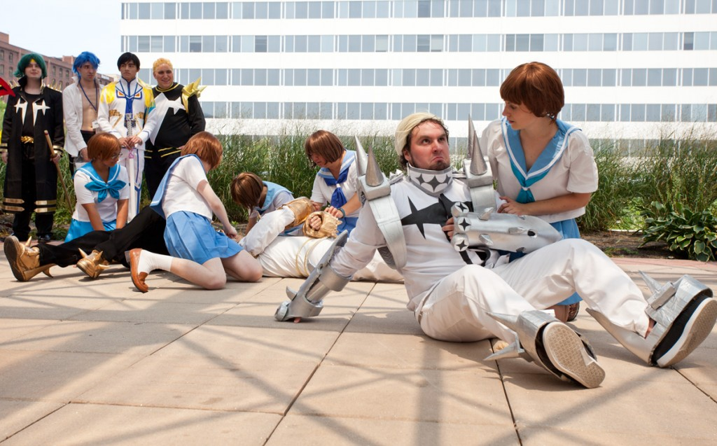 Otakon Kill la Kill cosplay group