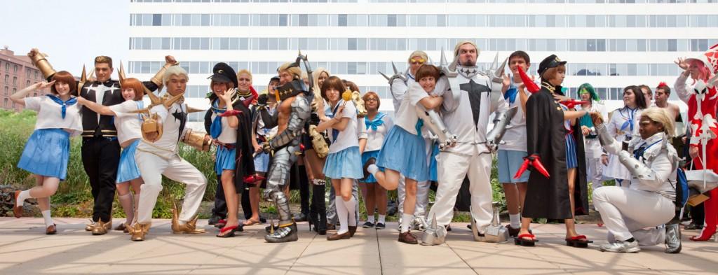 Otakon Kill la Kill cosplay photoshoot Mako X Gamagori