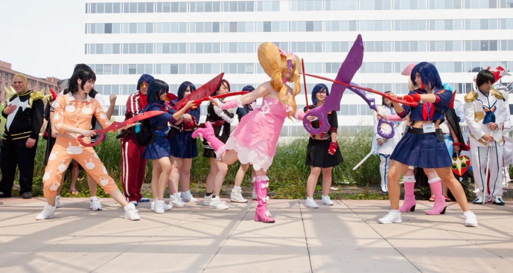 Otakon 2014 Kill la Kill photoshoot Ryuko vs Nui