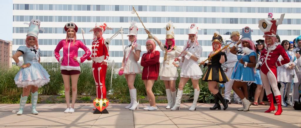 Otakon 2014 Nonon Jakuzure Cosplay Group Photo