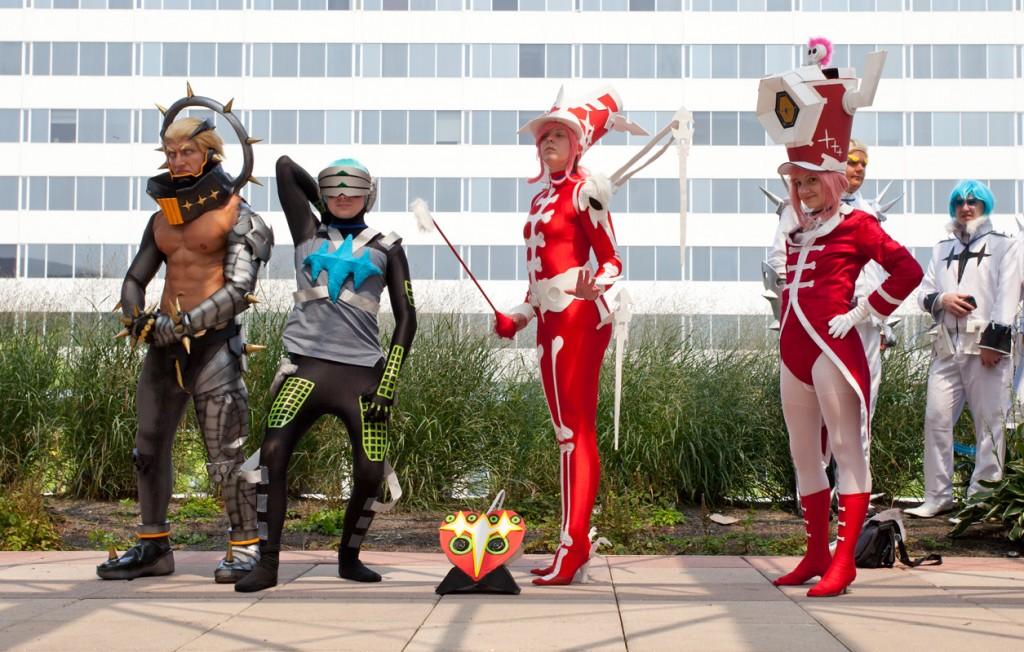 Otakon 2014 Kill la Kill cosplay photoshoot