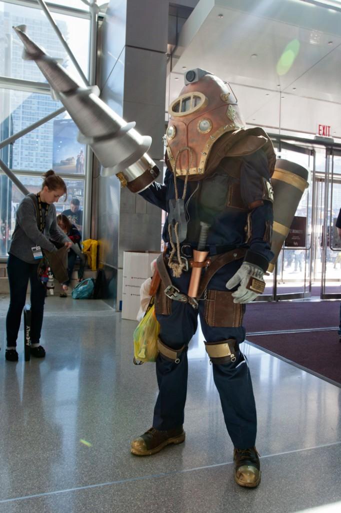 NYCC 2014 bioshock cosplay