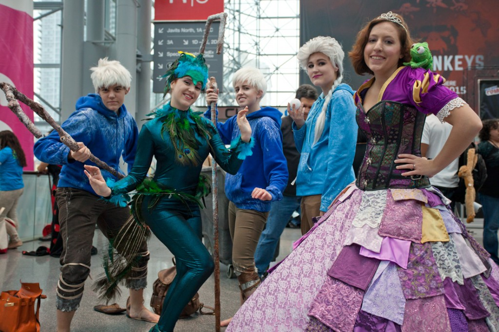 NYCC 2014 frozen cosplay