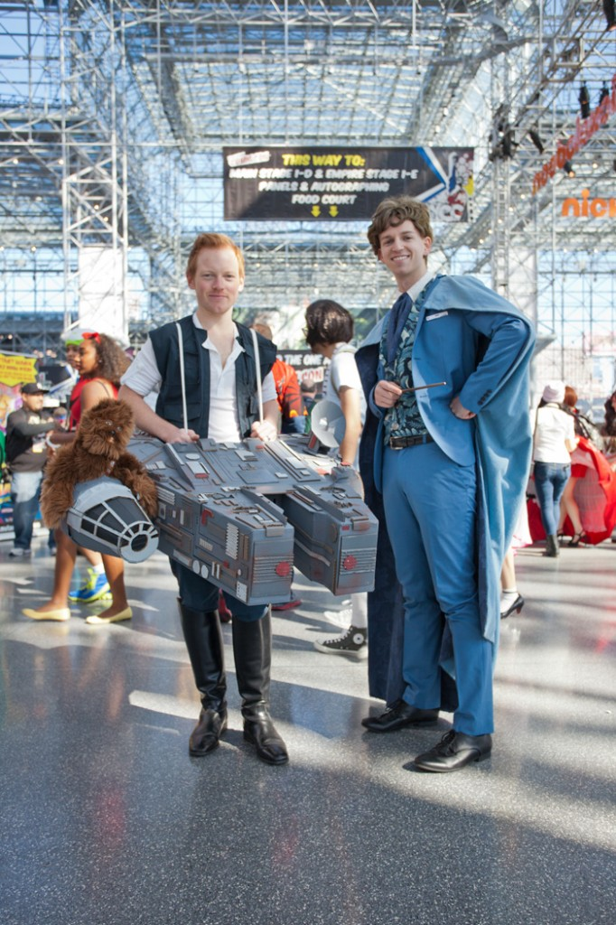 NYCC-2014 millennium falcon cosplay