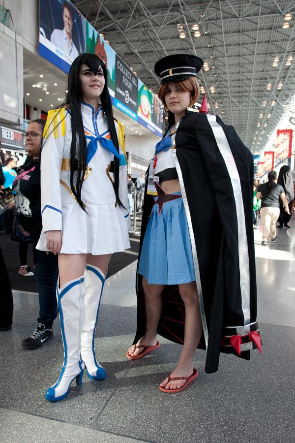 NYCC-2014 sunday kill la kill cosplay