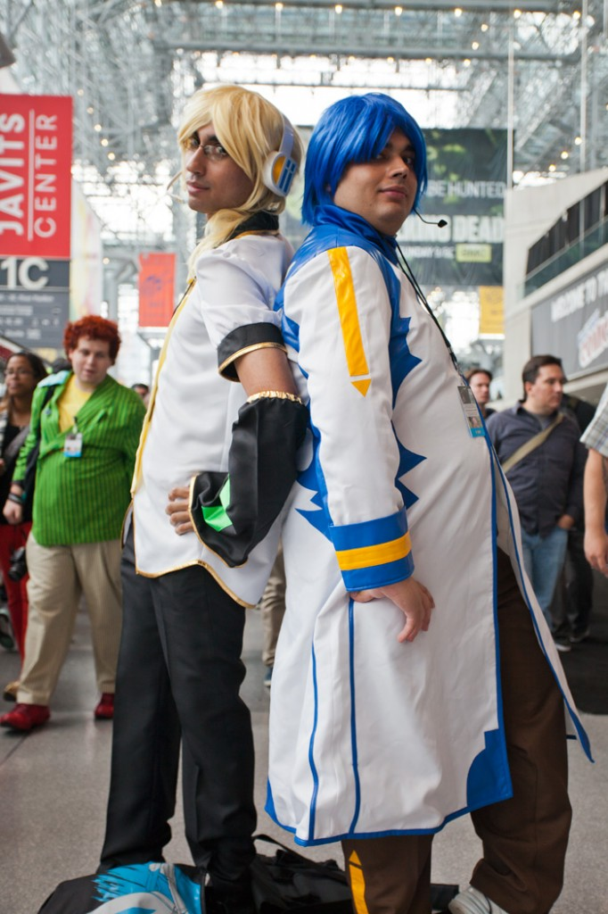 NYCC Kaito and len cosplay