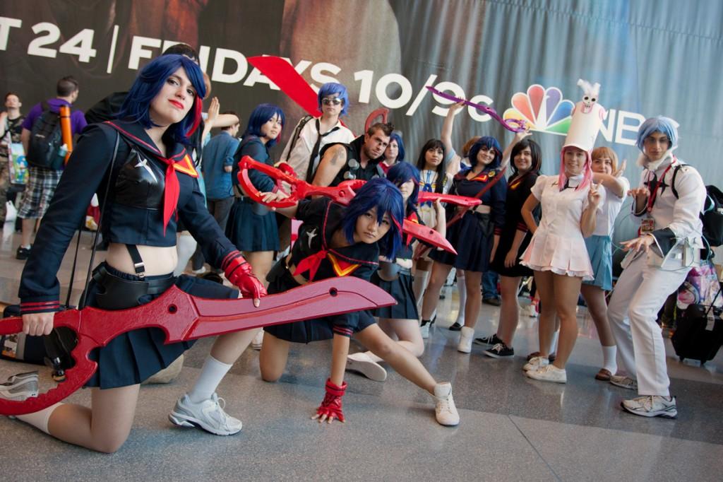 NYCC Kill la Kill cosplay