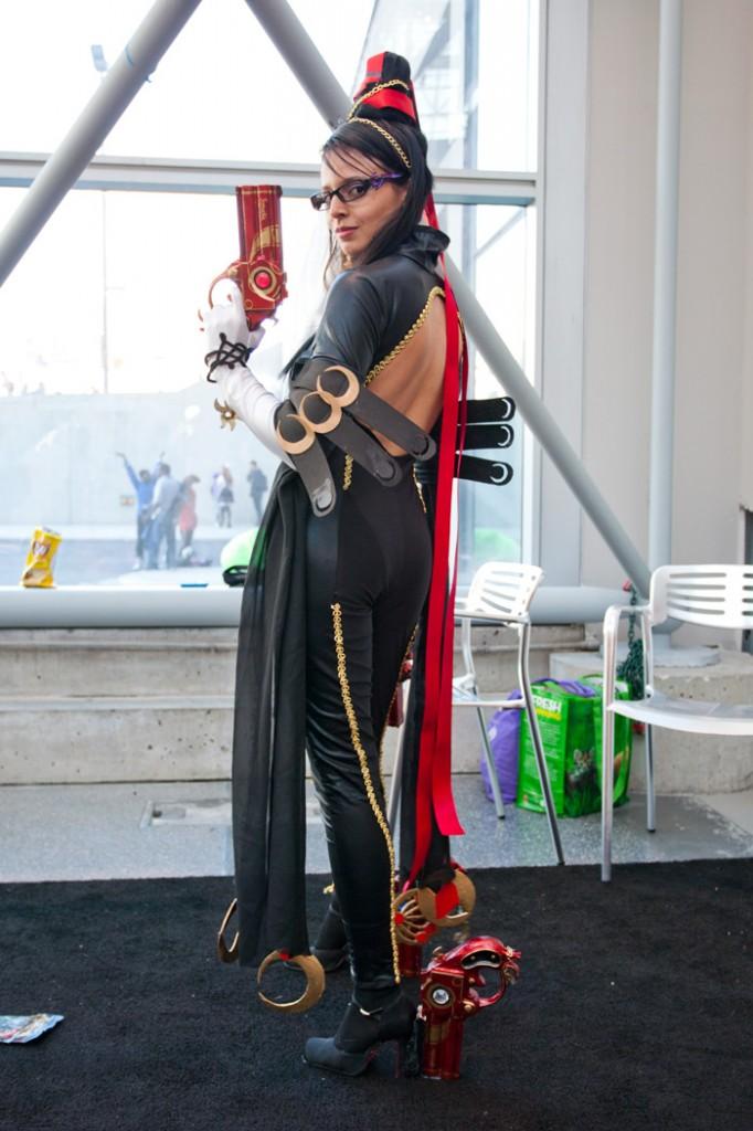 nycc 2014 bayonetta cosplay