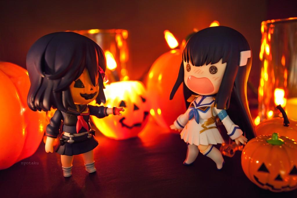 Nendoroid Ryuko and Satsuki Halloween