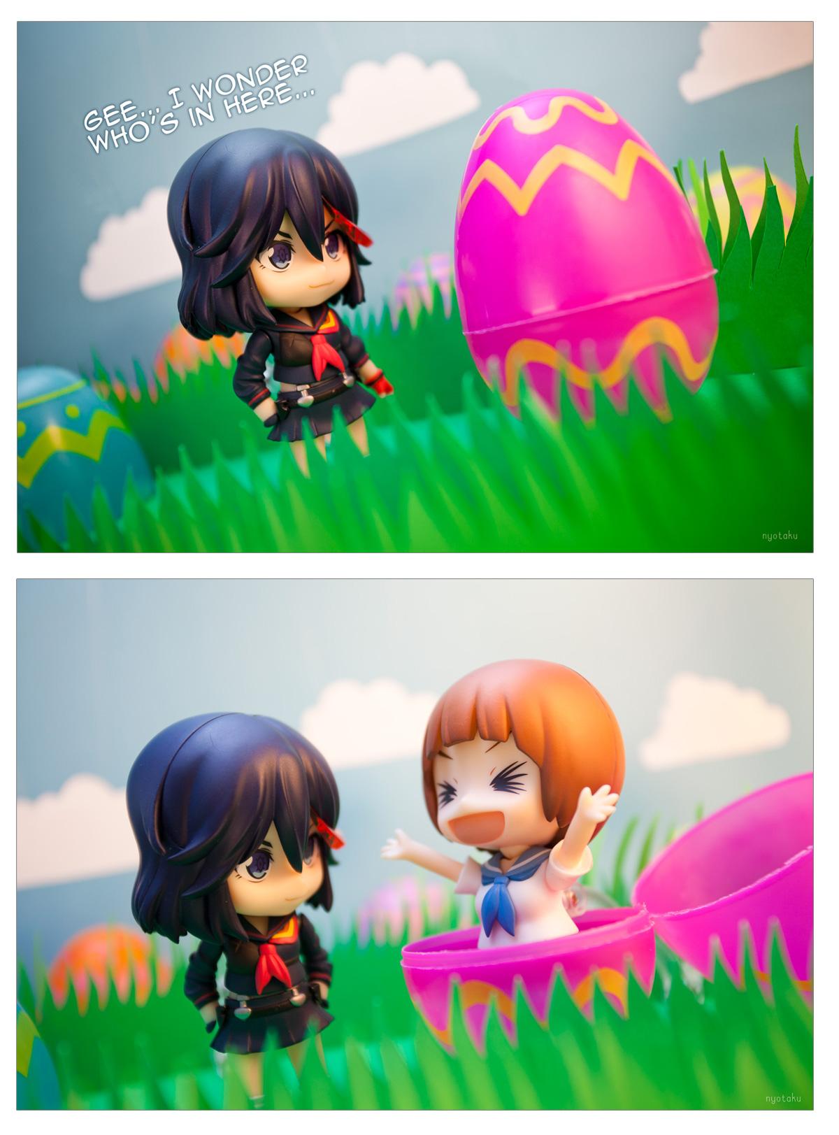Nendoroid Ryuko & Mako Easter Comic