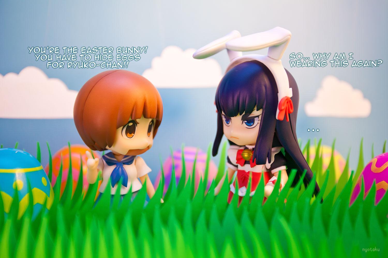 Satsuki and Mako Easter