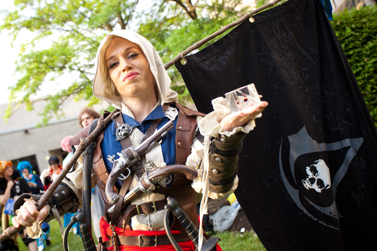 AnimeNEXT 2015 Assassins Creed Cosplay