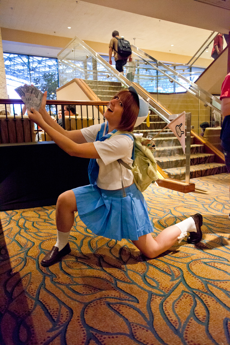 AnimeNEXT 2015 Mako Cosplay