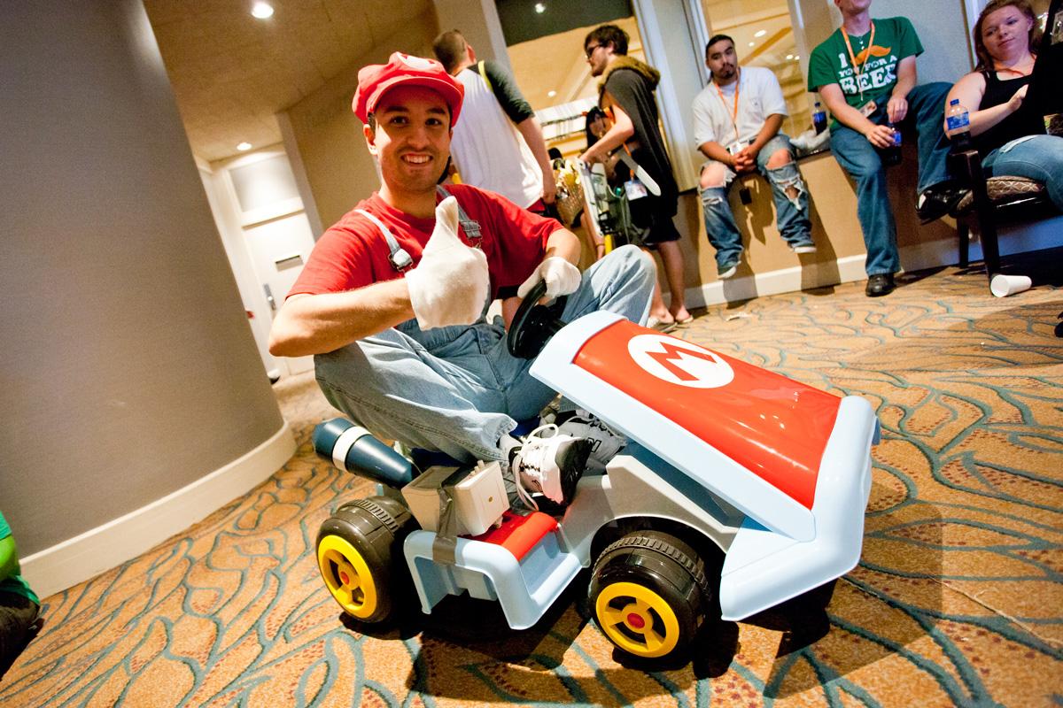 AnimeNEXT 2015 Mariokart cosplay