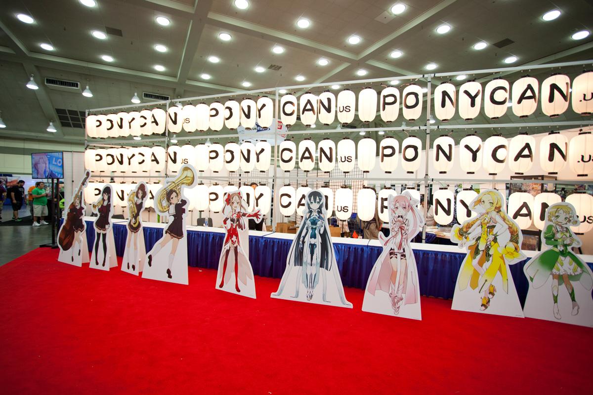 Otakon Pony Canyon Booth