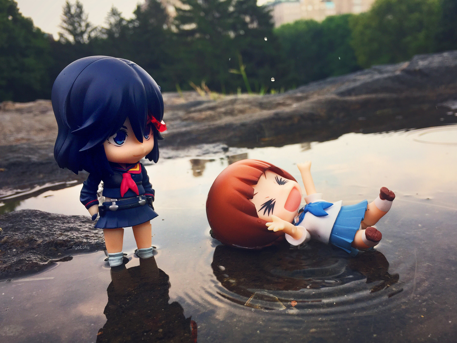 Mako and Ryuko Water
