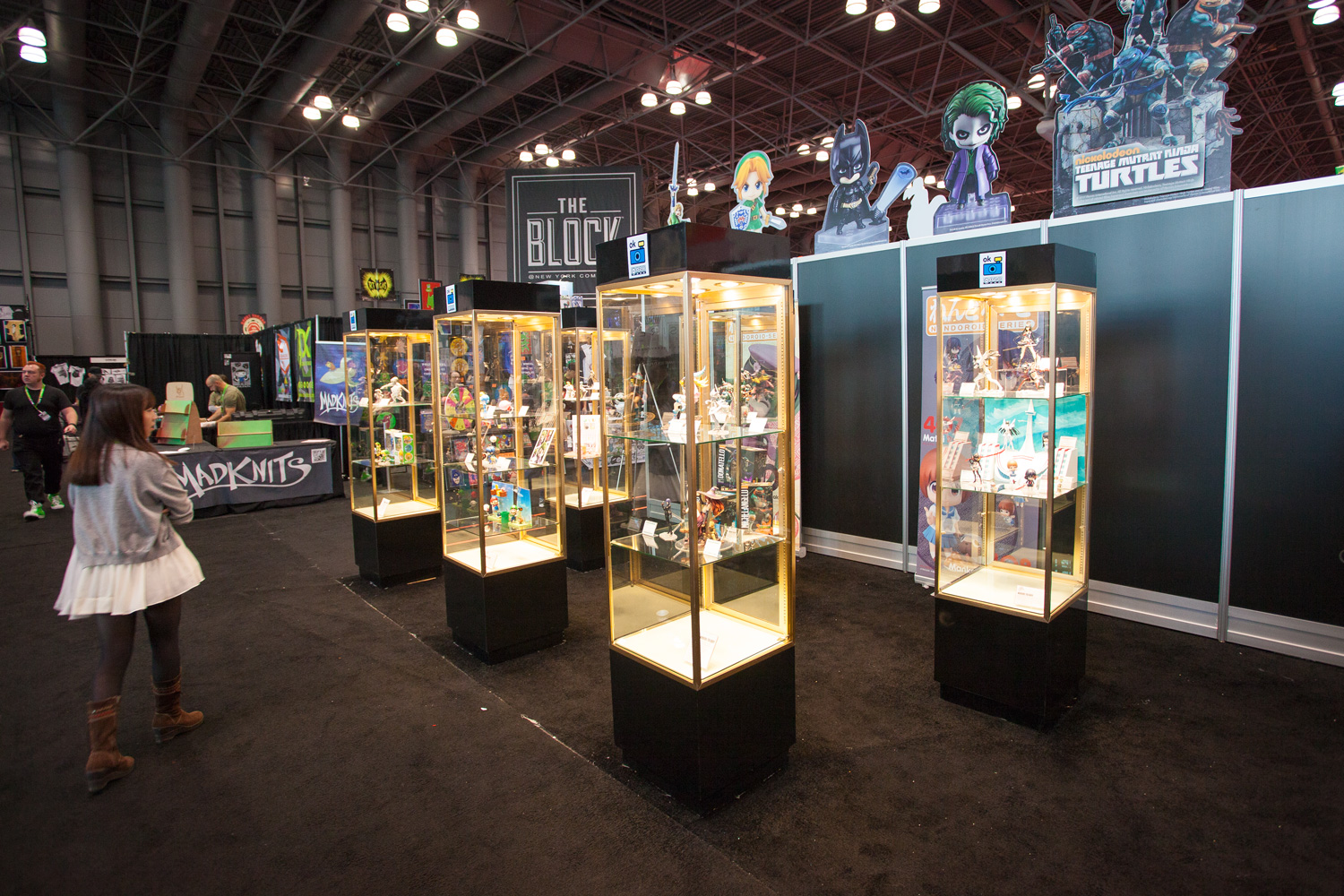 NYCC 2015 GSC Booth