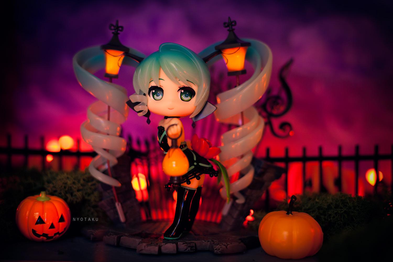 Lamp Miku Halloween